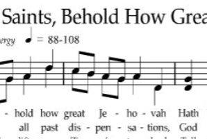 saints behold
