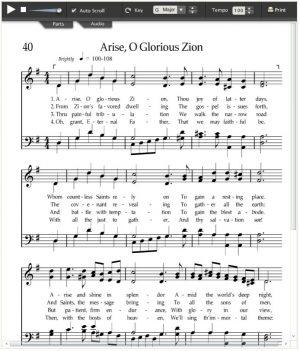 glorious Zion