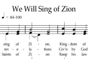sing of Zion