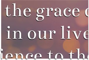 works and grace
