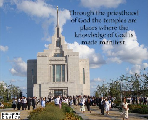 priesthood restoration