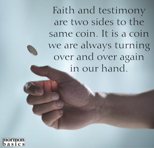 faith and testimony