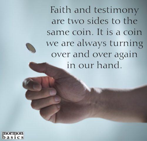 faith and testimony