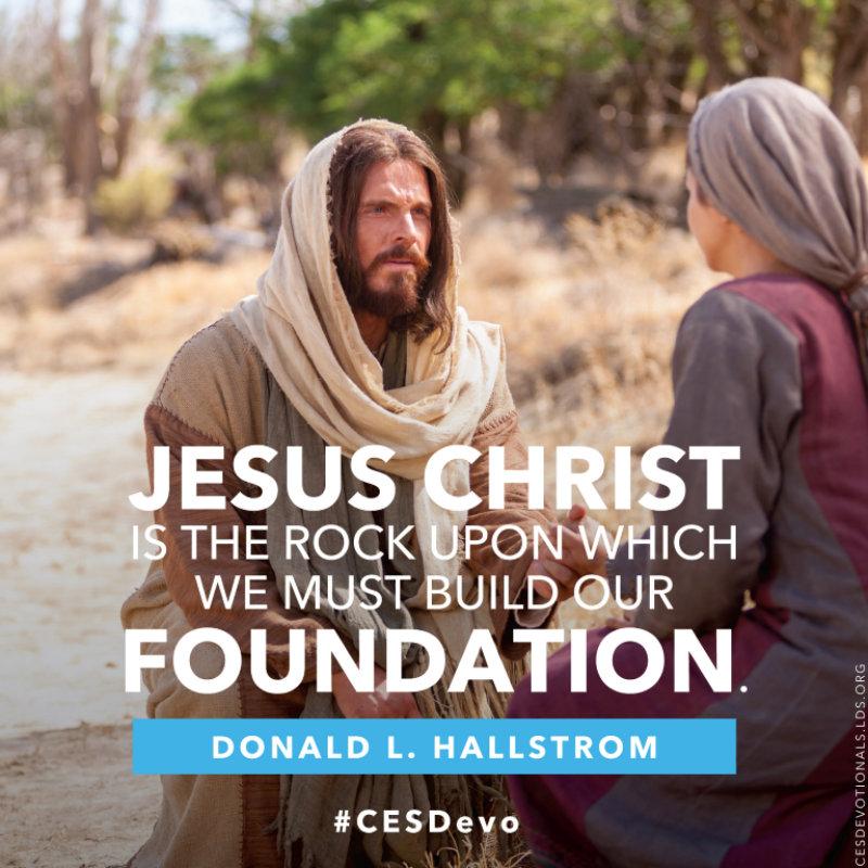 jesus our spiritual foundation