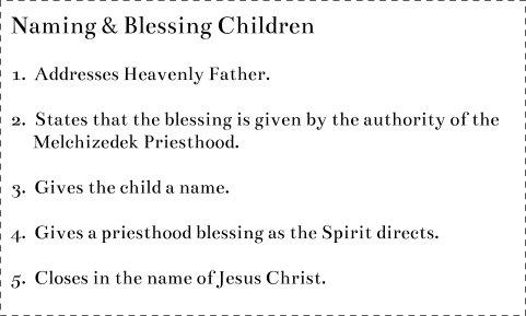 Naming Blessing Children