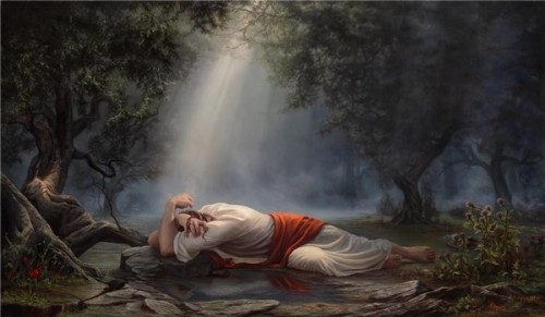 Atonement in Gethsemane
